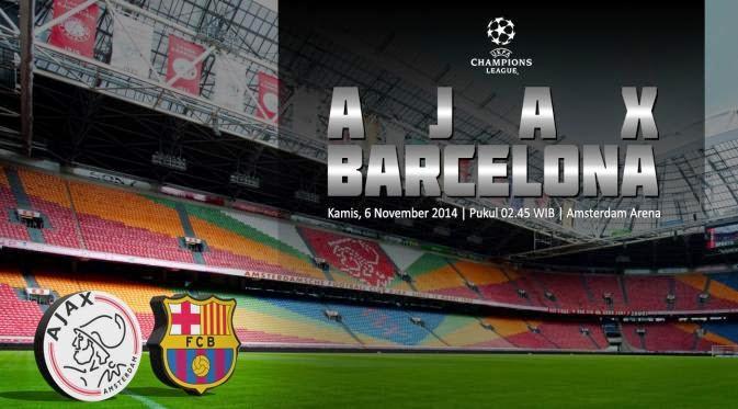 Prediksi Liga Champions Leg 2 Barcelona Vs Ajax