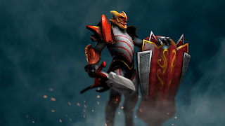 davion the dragon knight dota 2 hd wallpaper hero