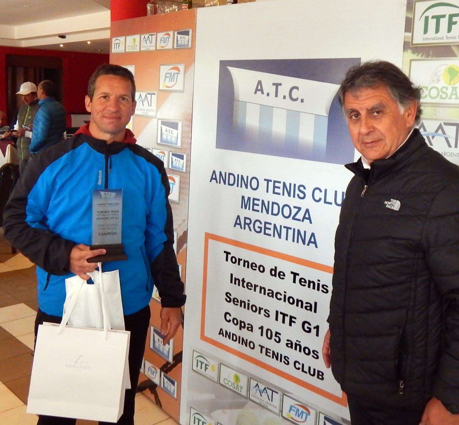 ITF SENIORS G1 COPA 105 AÑOS ANDINO - CAMPEONES