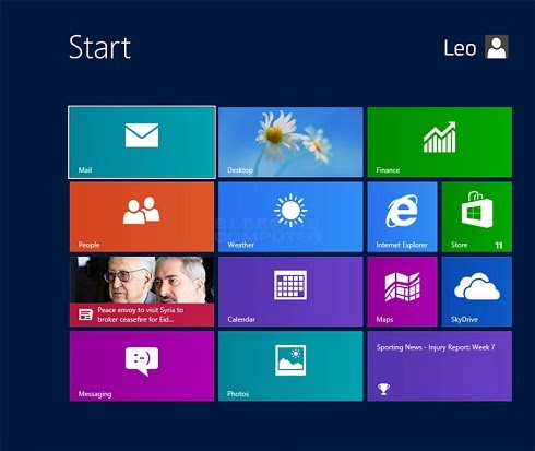 How to Use Windows 8 Build in Applications