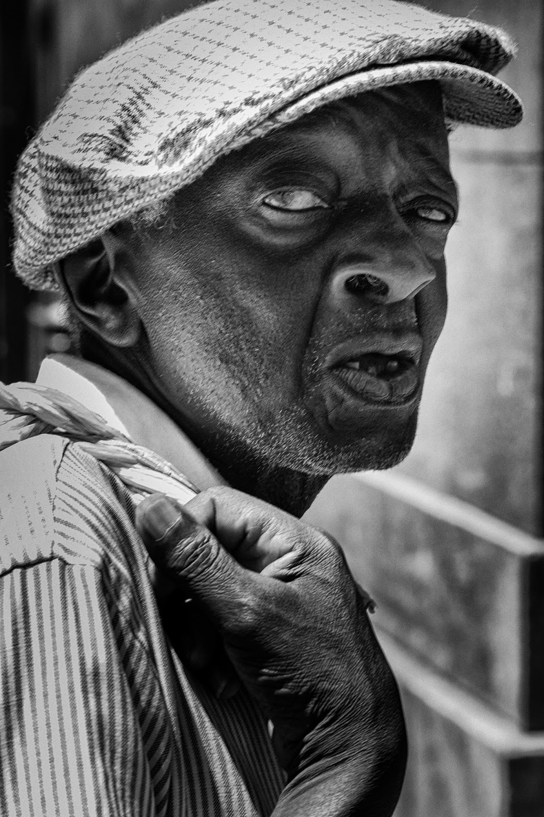 A candid portrait shot in Cape Town South Africa