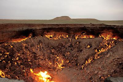 Derweze The gates of hell