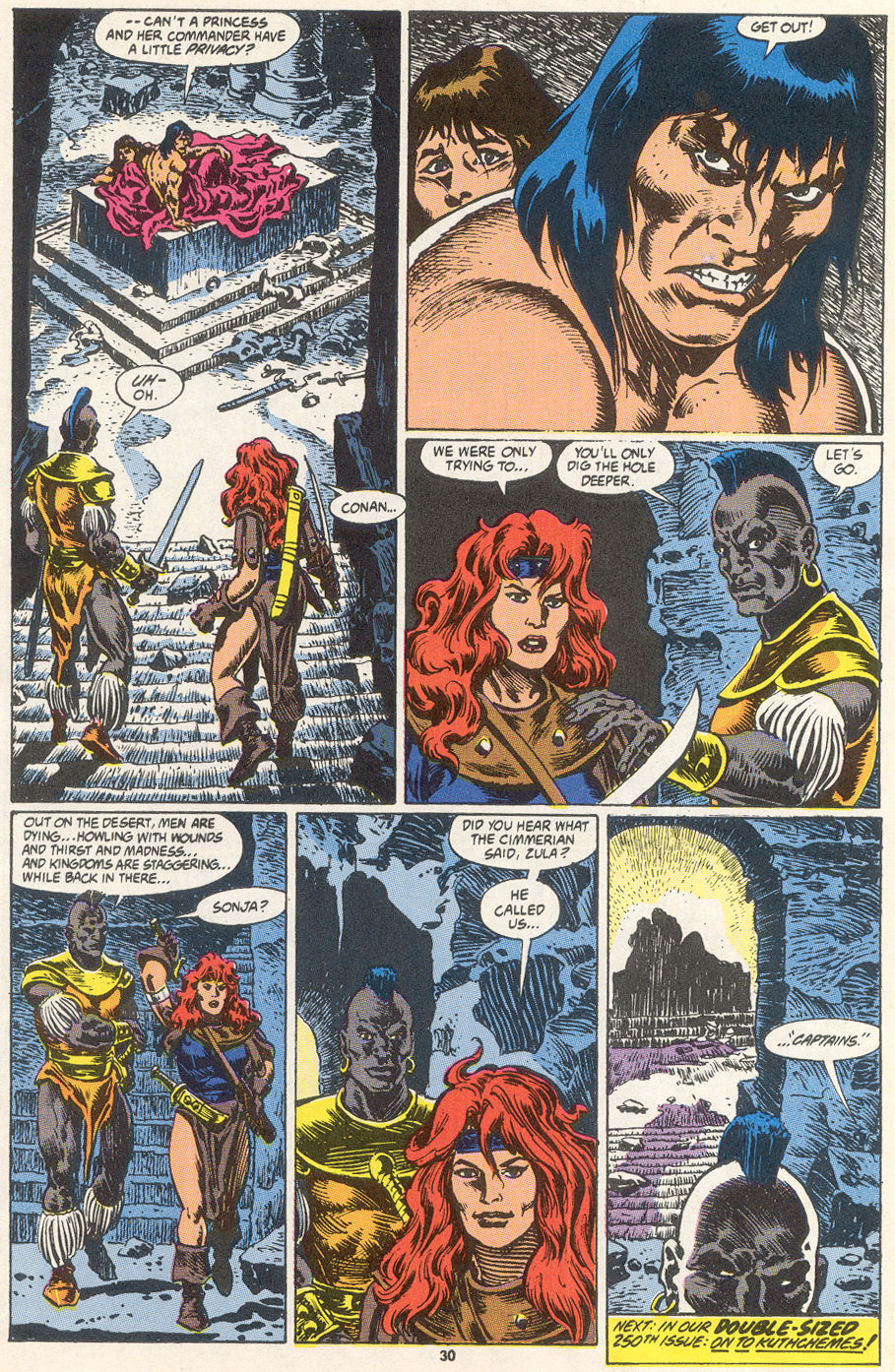 Conan the Barbarian (1970) Issue #249 #261 - English 23