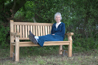 Mum on the bench