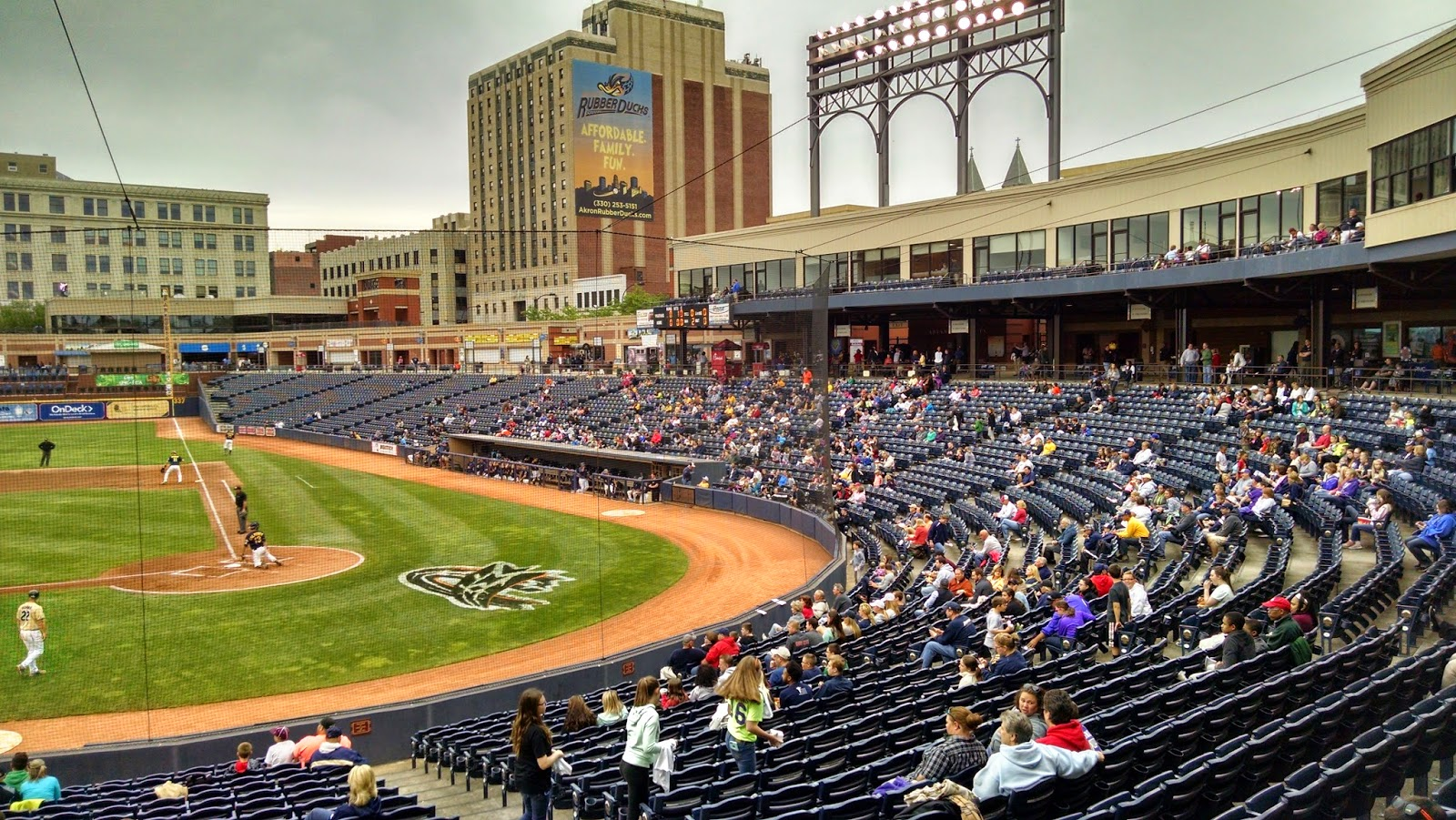 93 Canal Park Akron Oh Scolin S Sports Venues Visited