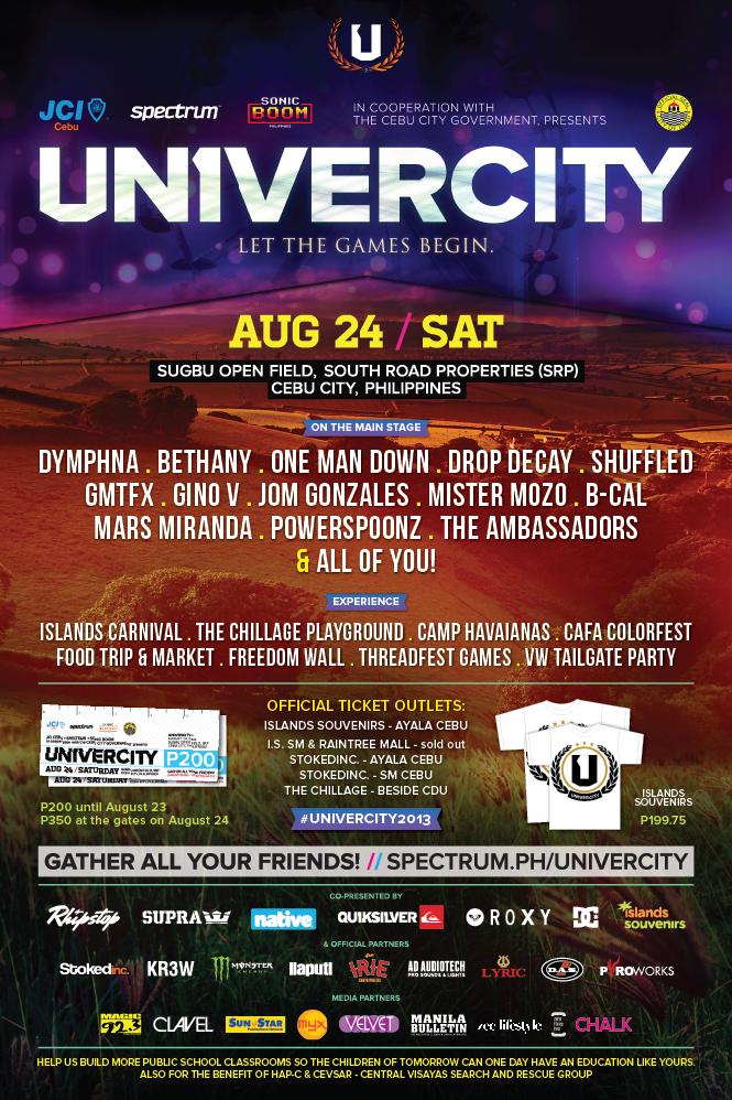 UNIVERCITY 2013: Let The Games Begin
