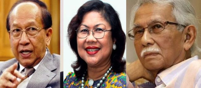 Y 3 EX CABINET MINISTERS ; RAFIDAH , DAIM ; RAIS MAKE NTR URINATED IN HIS PANT WHEN THEY SUPPORT PH
