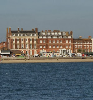 Gloucester Lodge, the Duke of Gloucester's house,  Weymouth seafront