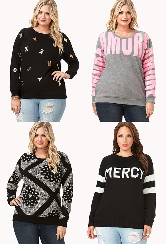 Baby Its Cold Outside Plus Size Sweater And Jumper Picks Sugar