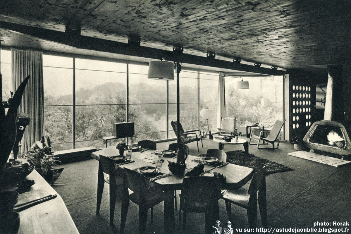 nancy maison particuli re et atelier jean prouv 1954. Black Bedroom Furniture Sets. Home Design Ideas