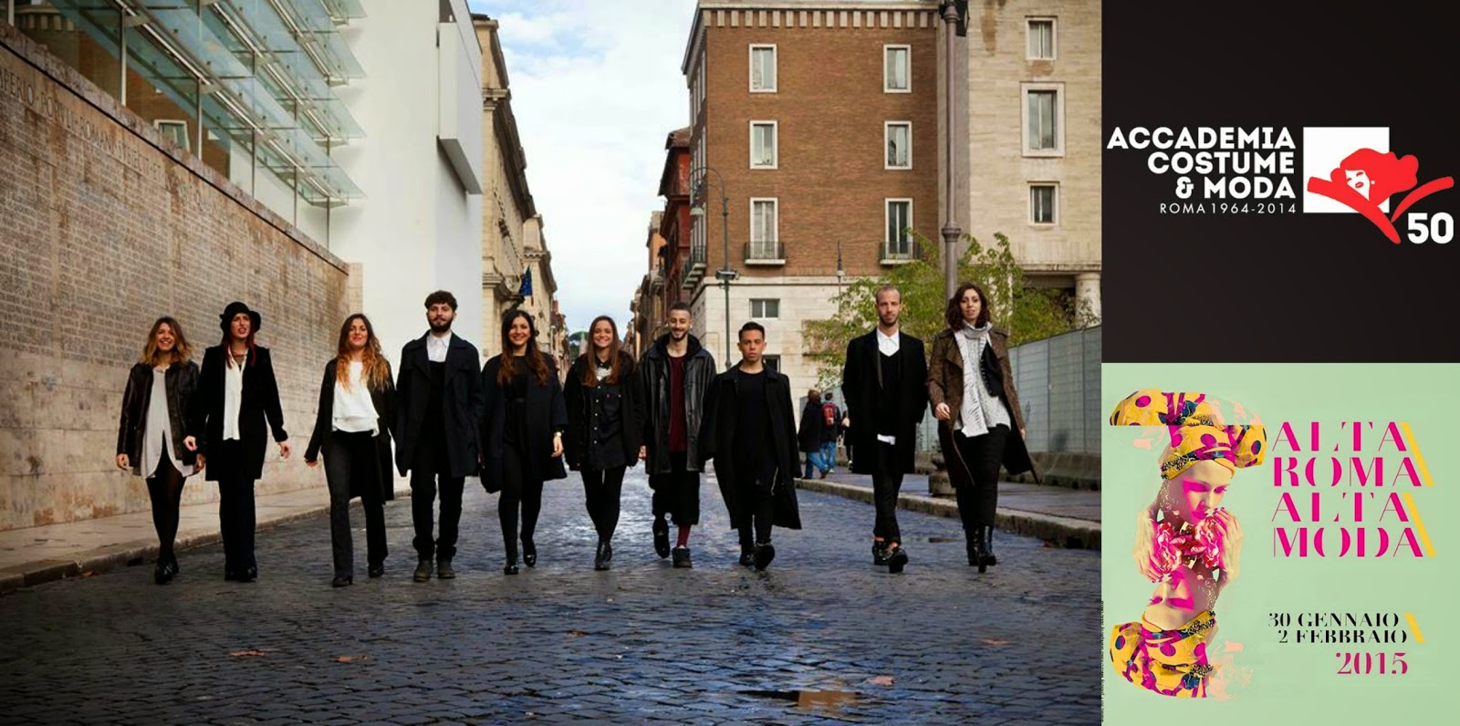 Final Graduate students of Accademia Costume & Moda, Rome ...