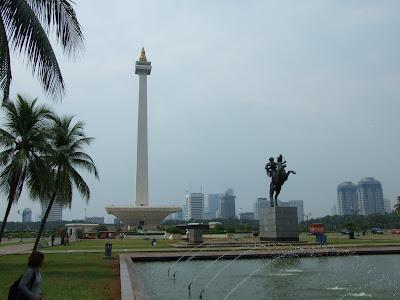วันที่ 8 เที่ยวโมนาส เมอเดร์กา สแควร์ มัสยิด Istiqlal