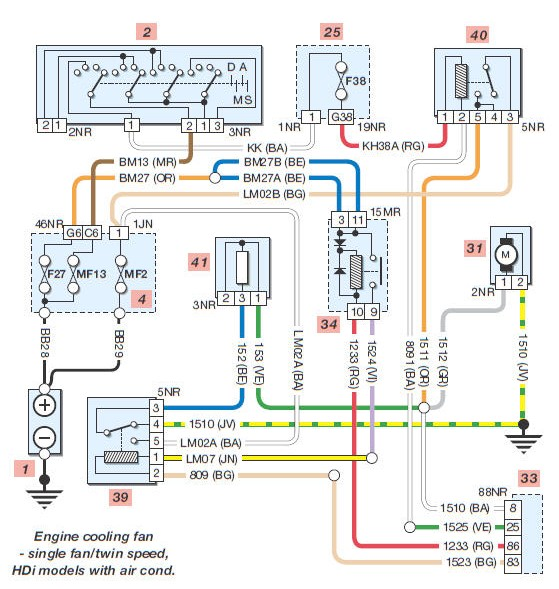 5 Post Relay Diagram on vw horn wiring diagram