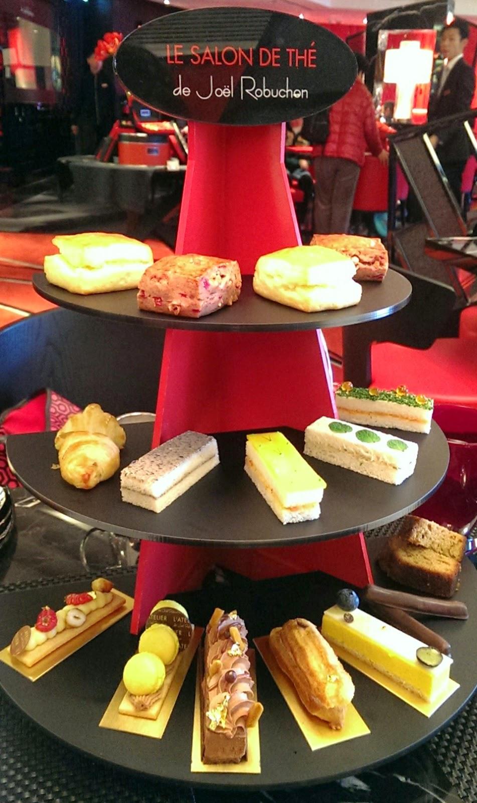 E ting le salon de th de jo l robuchon afternoon tea - Salon de joel robuchon ...