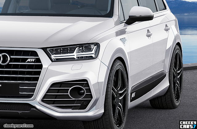 new audi sq 7 tuning pictures photos video and images neuer audi q7 s line tuning 2015 bild. Black Bedroom Furniture Sets. Home Design Ideas