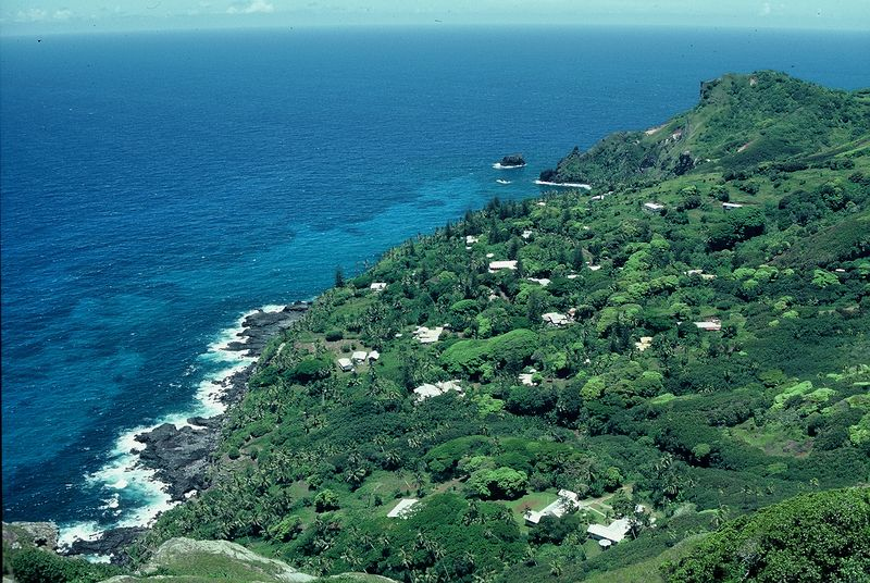 Adamstown Pitcairn Islands Travel Information Exotic Travel - Pitcairn island one beautiful places earth