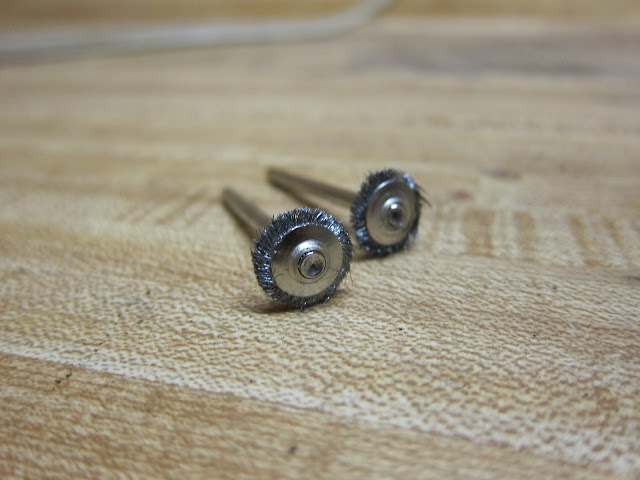 Worn out Dremel wire wheels