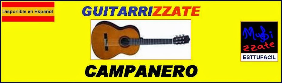 GUITARRA Campanero