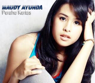 Lirik Lagu dan Video Klip Maudy Ayunda - Perahu Kertas(Ost. Perahu Kertas)