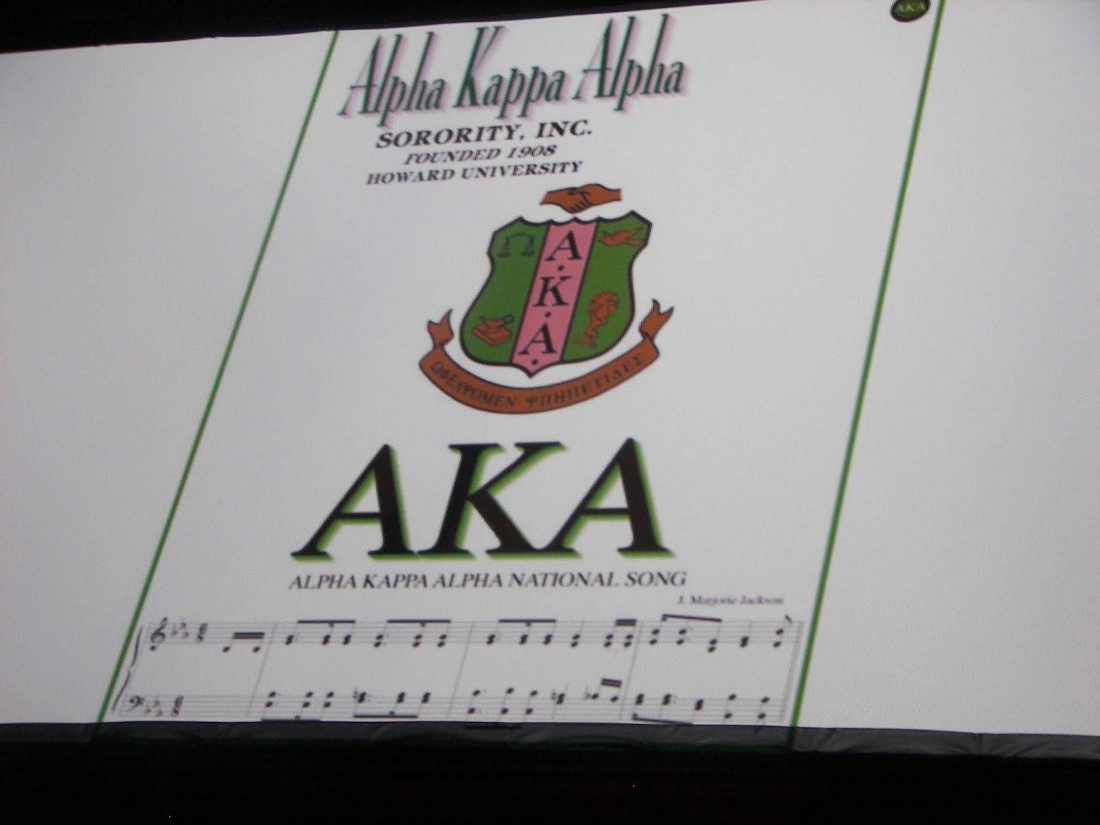 Alpha Kappa Alpha - Initiation Ritual - Stichting Argus