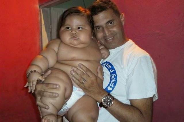 Μάνα «τέρας» έκανε το 8 μηνών μωρό της, 19,5 κιλά