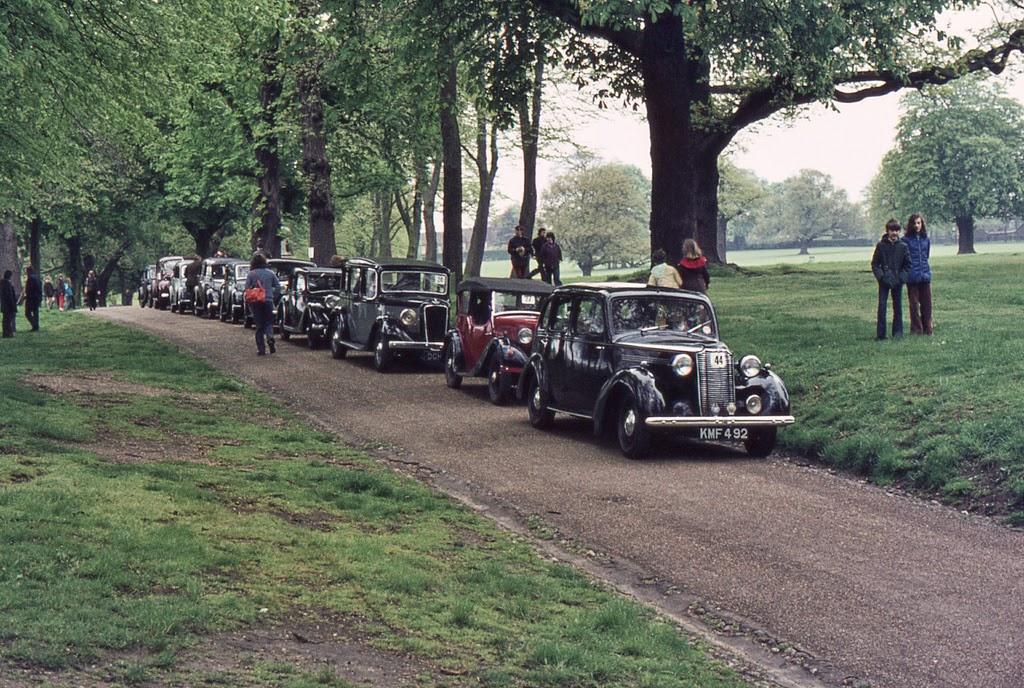 Ipswich to Felixstowe Historic Vehicle Run in the 1970s ~ vintage ...
