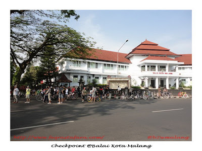Check Point @Balai Kota Malang - @b2wmalang
