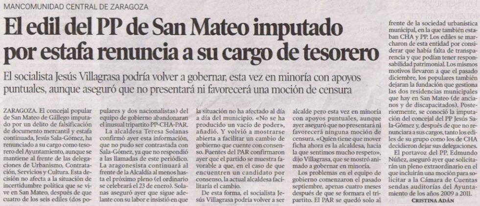 El blog de san mateo de g llego heraldo de arag n el - El tiempo en san mateo de gallego ...