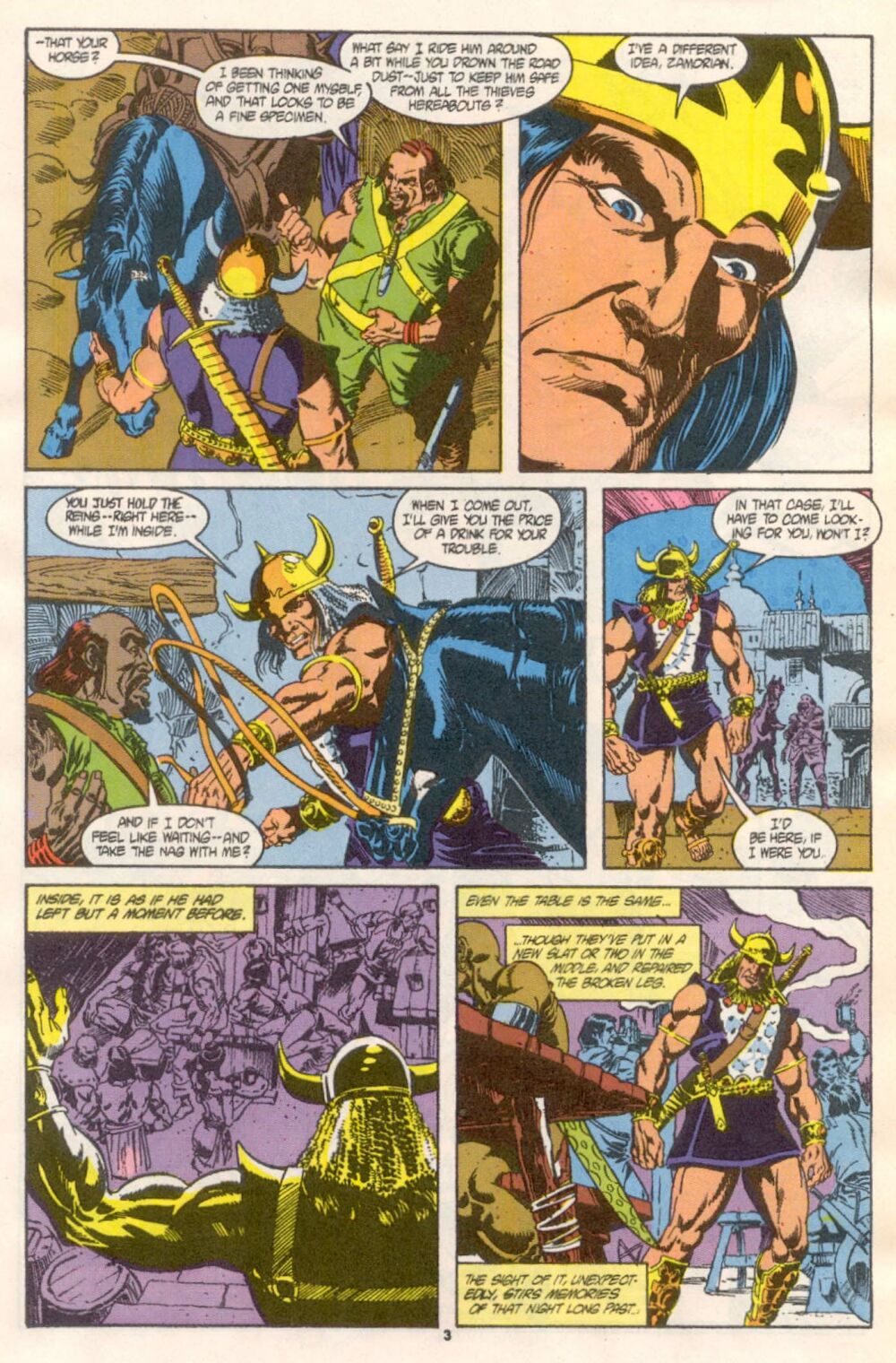Conan the Barbarian (1970) Issue #241 #253 - English 4