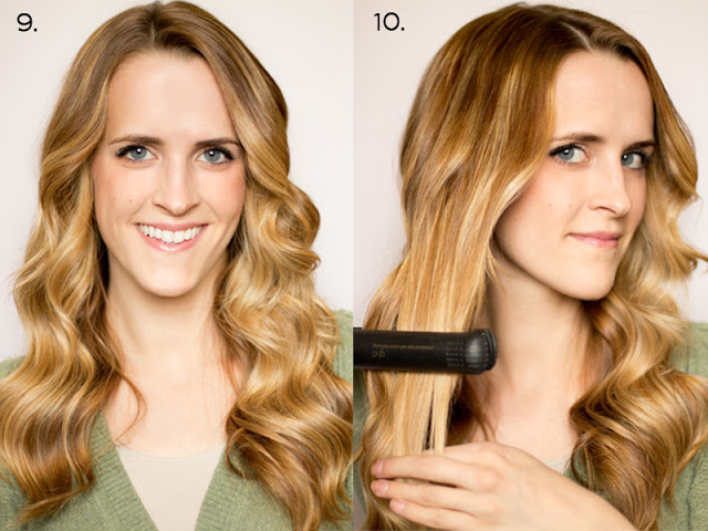 How to Make Curls With a Flat Iron How to Soft Flat Iron Curls