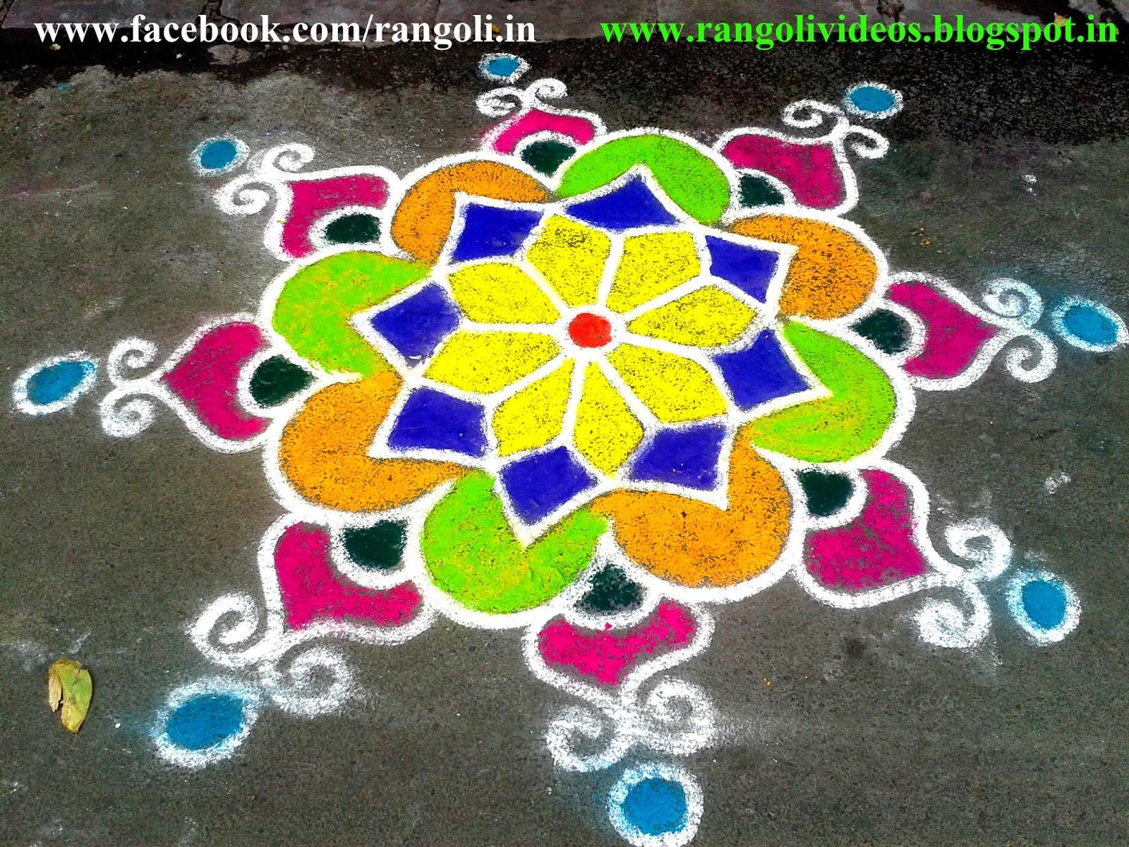 Diwali Rangoli , Kolam , Designs Images: December 2013