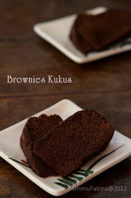 brownies kukus coklat gluten free