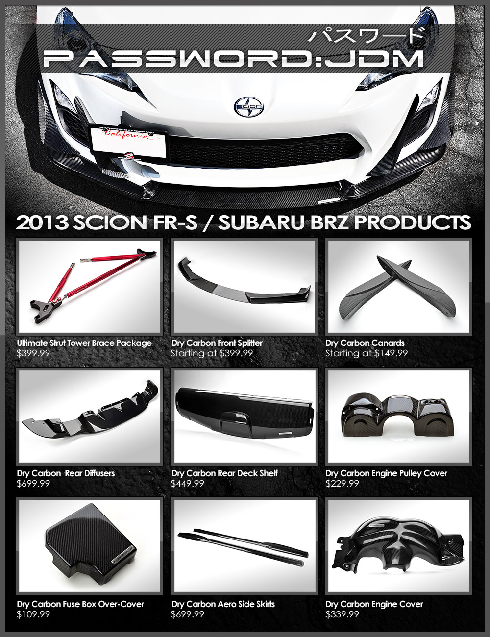 All Version Motoring Blog 2013 Scion Frs Fuse Box Password Jdm Has Always Been A Much Sought After Brand Among Car Tuners Famous For Importing Genuine Parts And Then Producing Their Own Line Of Carbon
