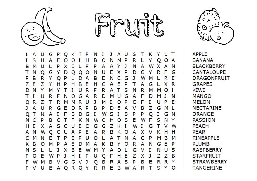 Favour in Fun: Fruit!