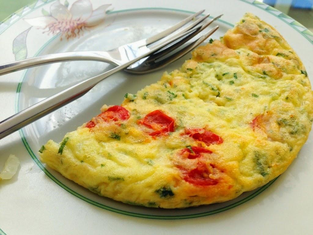 Receita de Omelete Fácil e Simples