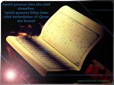 penting, al-quran, kitab, sunnah, syaitan, lawan, manusia, pelihara, wahyu, quote