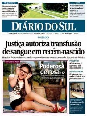 JORNAL DIÁRIO DO SUL
