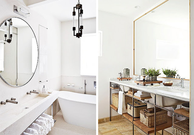 Espejos grandes para baño
