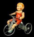 Kiddie cyclist