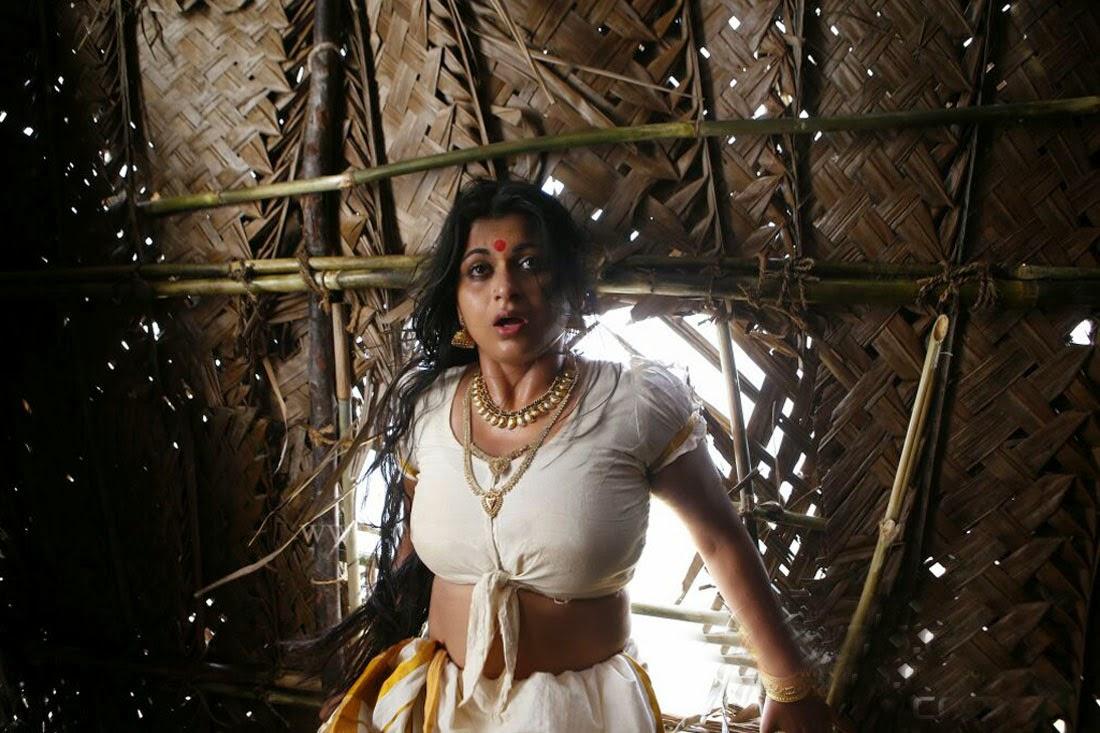 malayalam hot actress shruthi lakshmi sexy navel show