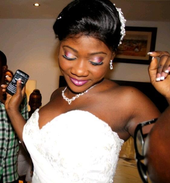 Nigerian Actress Mercy Johnson Wedding