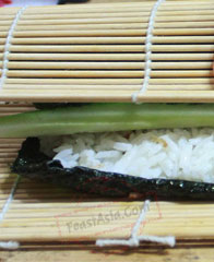cara membuat sushi