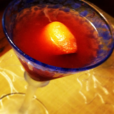 Blood Orange Martini | www.kettlercuisine.com