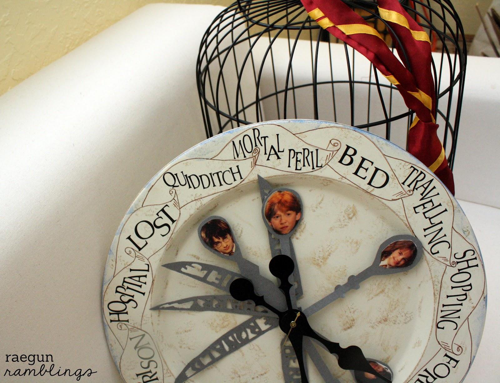 Weasley Family Clock Tutorial Rae Gun Ramblings