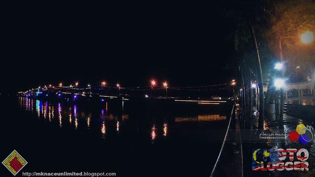 Menara Jam dan Jambatan Muar