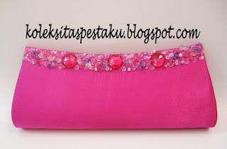 Tas Pesta Shocking Pink