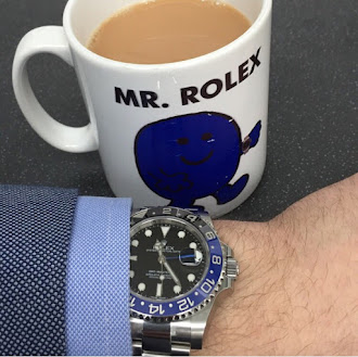 New Yorker Mr. Rolex and his GMT Master Batman