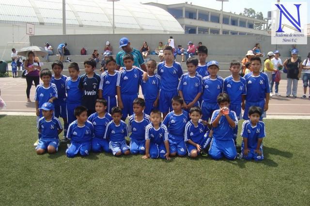ACADEMIA NERVI F.C EN AMISTOSO CON ACADEMIA BENTIN SEDE RIMAC - 13/02/13