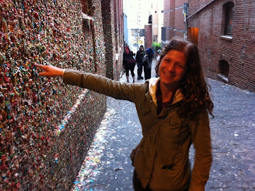 Gum Wall at Seattle, Washington