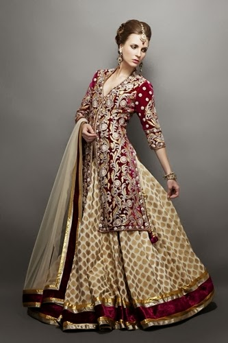 Latest Pakistani Bridal Collection 2014 2015 Luxury Bridal Dresses Fashion 2014 News Fashion